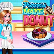 Princess Make Donut