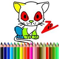 BTS Cat Coloring Book