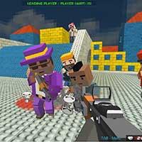 GunGame shooting warfare: blocky gangster