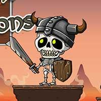 Vikings vs Skeletons